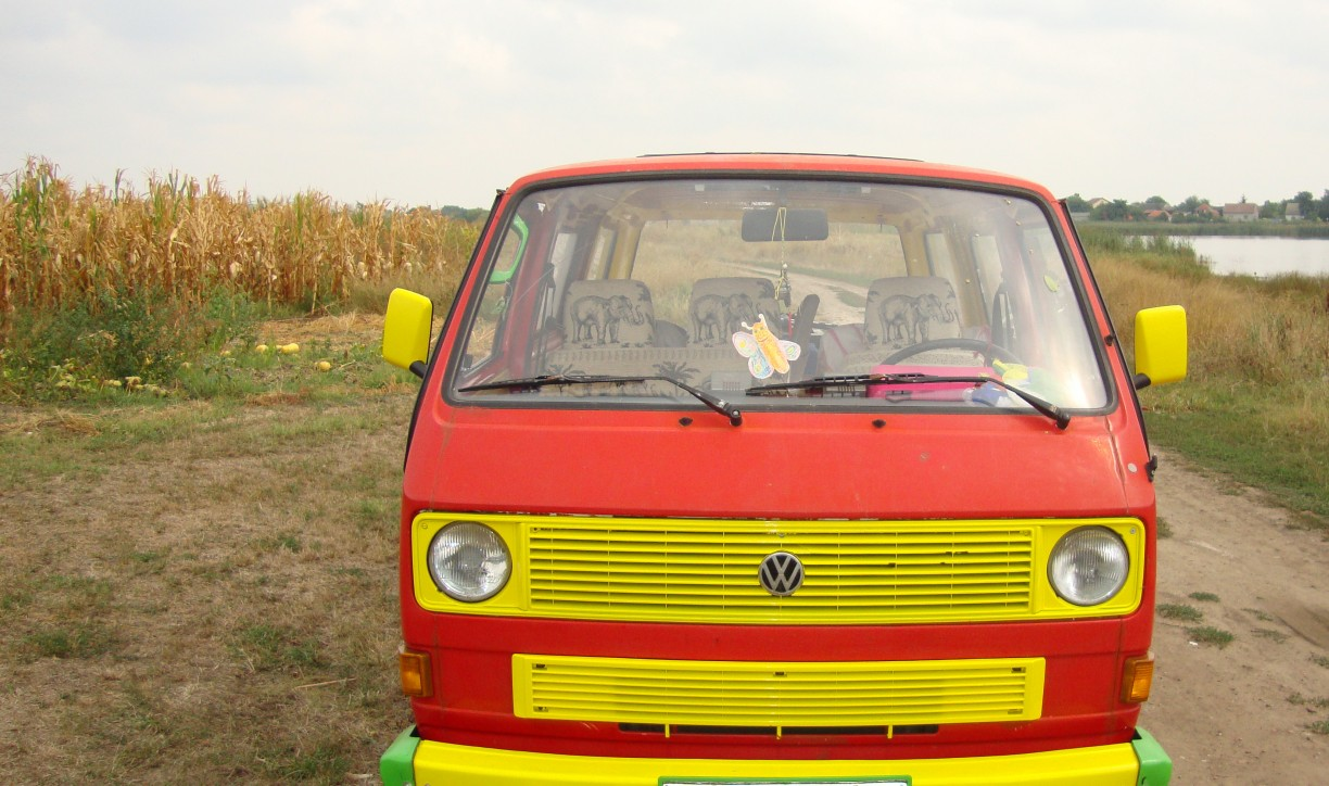 our car in Serbia