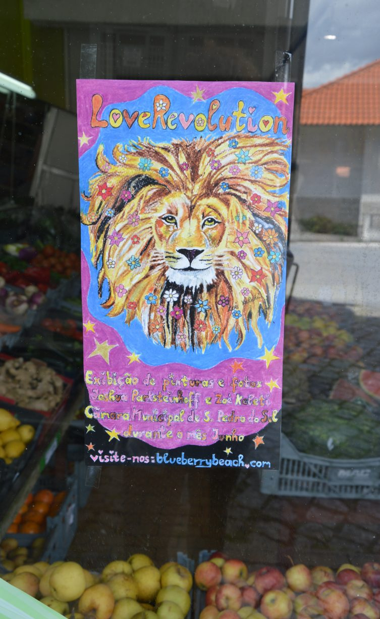 lion at the fruteria
